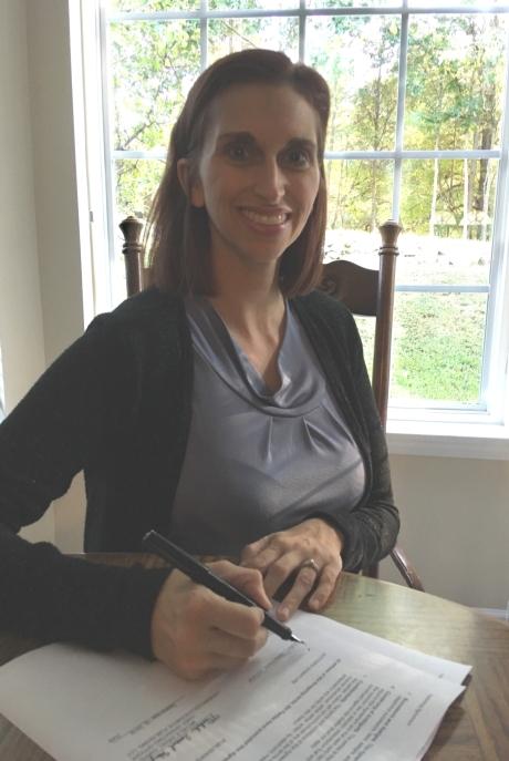 Laura L Zimmerman signing